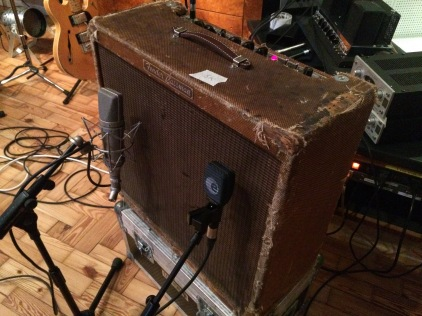 1959 Fender Bassman, U67, kemper profile, online session, electric guitar tracks, guitarist
