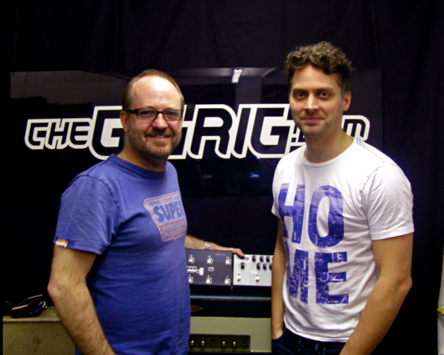 The GigRig's Dan Steinhardt & session guitarist Jon Wright